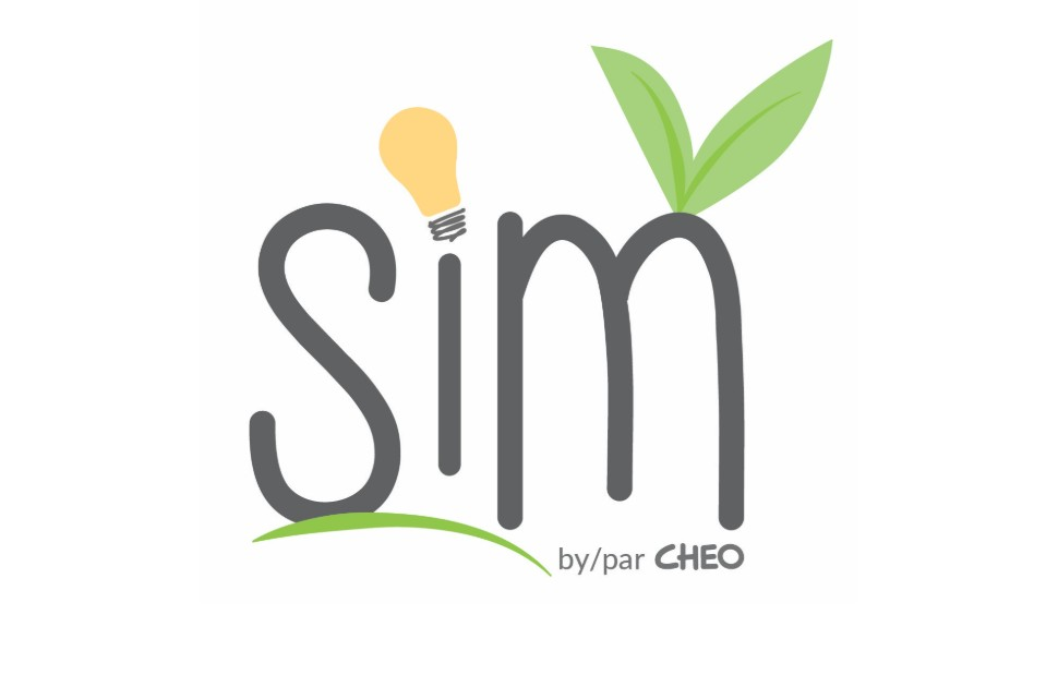 SIM icon with a lightbulb and leaves sprouting from the letters S, I and M.