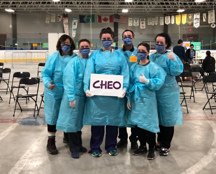 CHEO Brewer Assessment Centre group photo