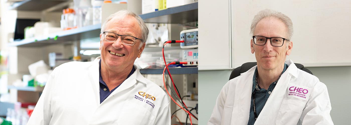 Dr. Robert Korneluk and Dr. Hanns Lochmuller